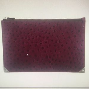 Alexander Wang Embossed Prisma Flat Pouch